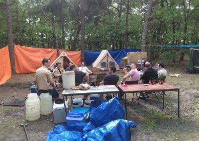 Oudleiding kamp