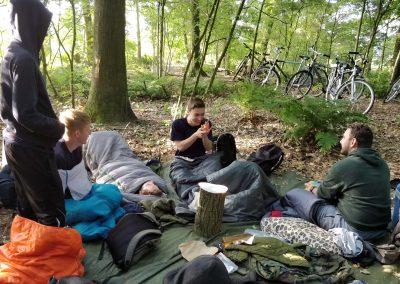 Explorers kamperen