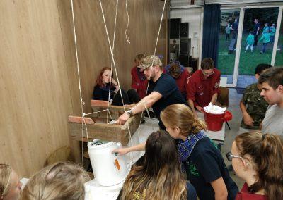 Brugmaken met touwen explorers #2